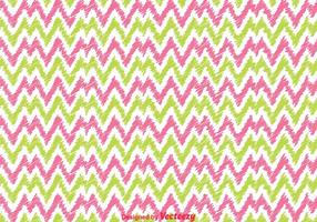 Pibk And Green Chevron pattern