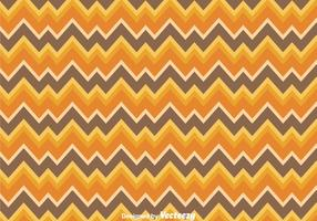 Orange und Brown Chevron Pattern
