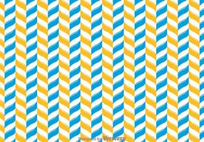Orange And Blue Chevron Pattern