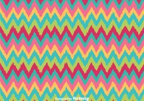 Retro Colors Chevron Pattern