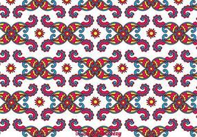 Fondo colorido de Paisley