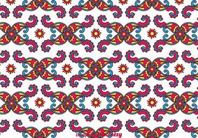 Kleurrijke Paisley Achtergrond