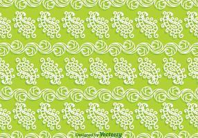 Paisley verde de fondo
