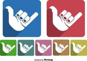 Shaka hand icoon