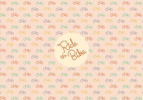 Fondo del patrón de la bicicleta