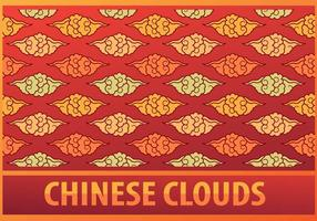 Chinees Wolkenpatroon