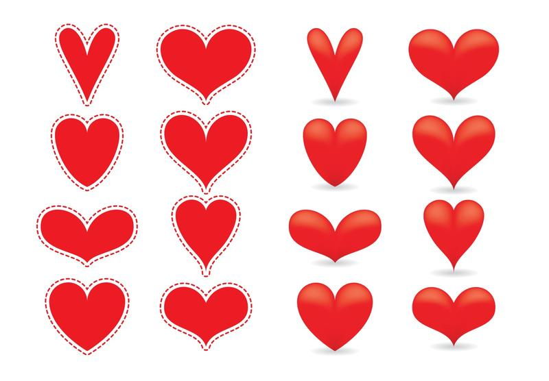 red heart vectors download free vector art stock graphics images rh vecteezy com heart vector art heart vector file