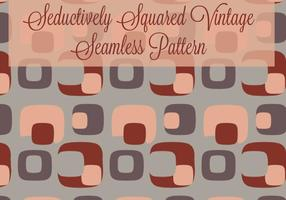 Seductively Squared Vintage / Retro Seamless Pattern