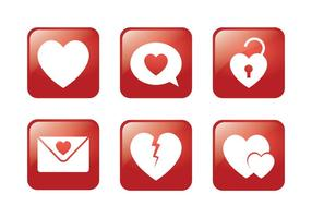Heart Square Icon