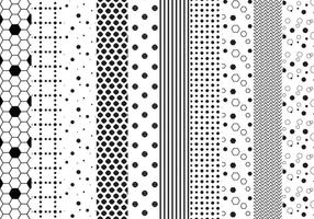 Free dotted Patterns Vektoren