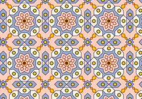 Árabe patrón de fondo vector