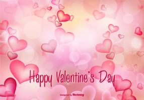 Beautiful Valentine's Day Vector Illustration