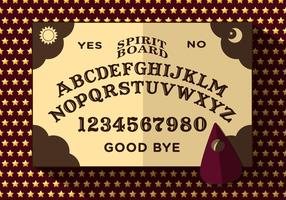 Ouija Board Vector Illustration