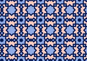 Square Arabic Pattern Vector