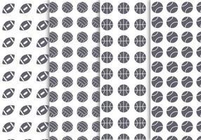 Gratis Sportballen Achtergrond Vector