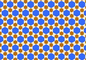 Islamisk mönster bakgrund vektor