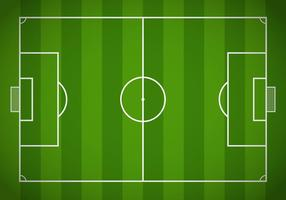 Vecteur de champ de soccer gratuit