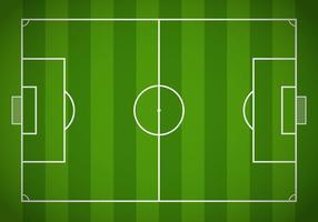 Campo de fútbol libre Vector