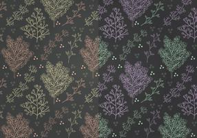 Vector Mimosa Patterns