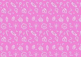 Free Dessert Patterns Vector