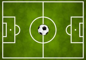 Free Soccer Green Field Vector