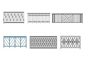 Steel Balcony Rails