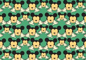 Free Mickey Shaka Pattern Vector