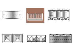 Balcony Rail Vectors