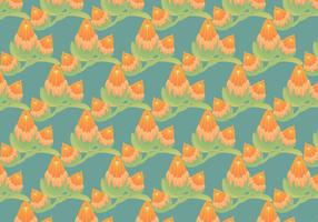 Free Protea Vector Pattern Illustration