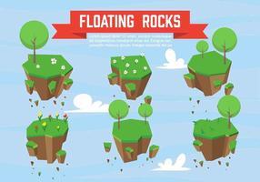 Vector Floating Rocks