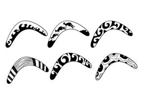 Boomerang vektor