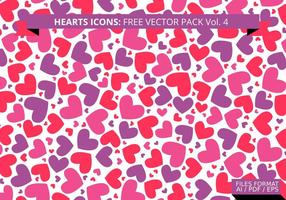 Heart Pattern Free Vector