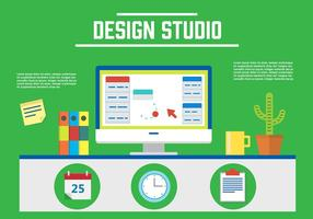 Gratis Design Studio Vector