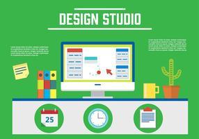 Vetor de estúdio de design grátis