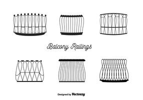Balkon Railings Vector