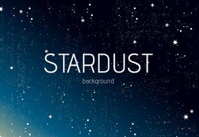 Stardust Vector de fondo