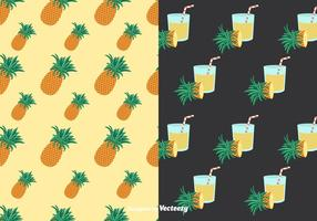 Ananas Mönster Vector