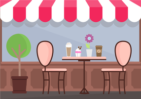 Gratis Coffee Shop Vector