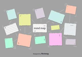 Gratis Mind Map Vector