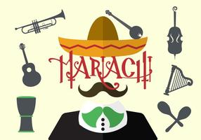 Vektor illustration av Mariachi