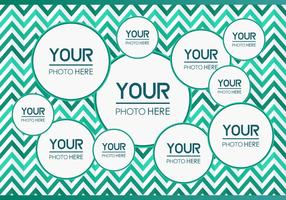 Free Photo Collage Vector