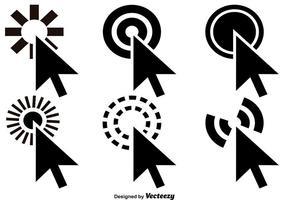 Maus Klick Icon Vektoren