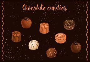 Chokladgodisvektorer