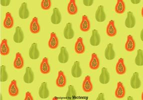 Papaya Seamless Pattern
