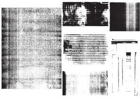 Fotokopie Textur Vektoren