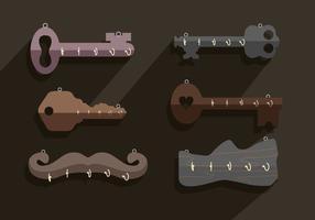 Nyckelhållare vektor
