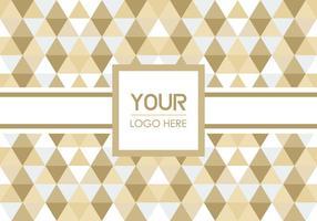 Triangle Geometric Logo Background