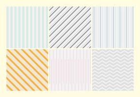 Thin Stripe Vector Patterns