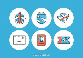 Free Airplane Vector Icons