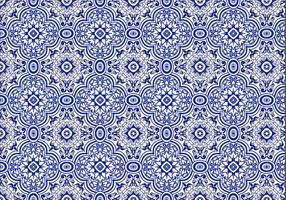Vetor de fundo azulejo grátis